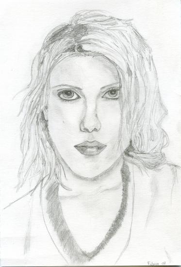 Scarlett Johansson por bricefa